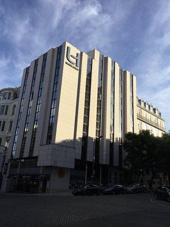 Hotel Lisboa: Fachada do Hotel