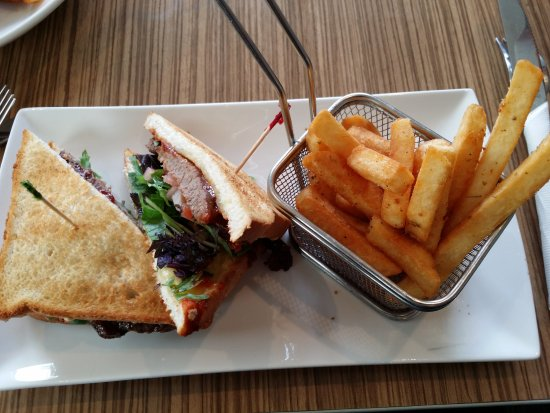 Ellerslie, New Zealand: Steak sandwich