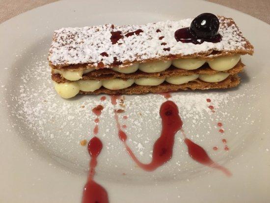Trattoria Da Cesare: Millefoglie- UNREALLY delicious!!
