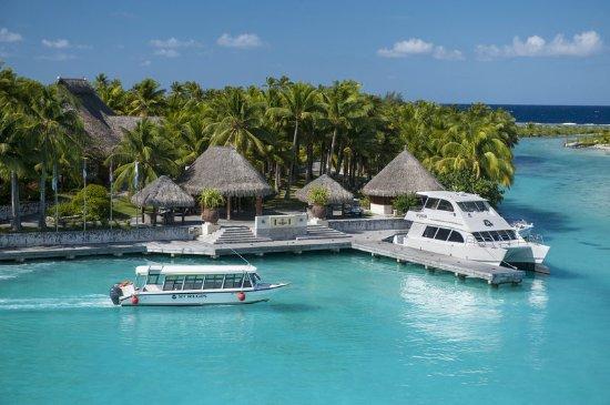 The St. Regis Bora Bora Resort: Exterior - Arrival Area