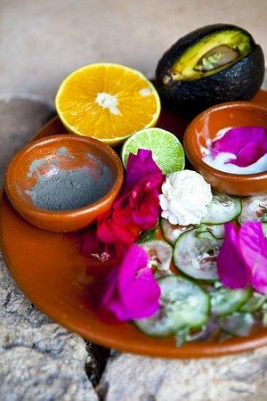 Tixkokob, Meksika: Massage's Ingredients