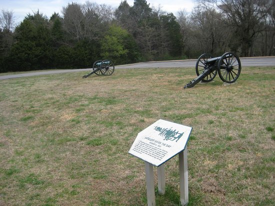‪‪Murfreesboro‬, ‪Tennessee‬: Cannons at this battleground site‬