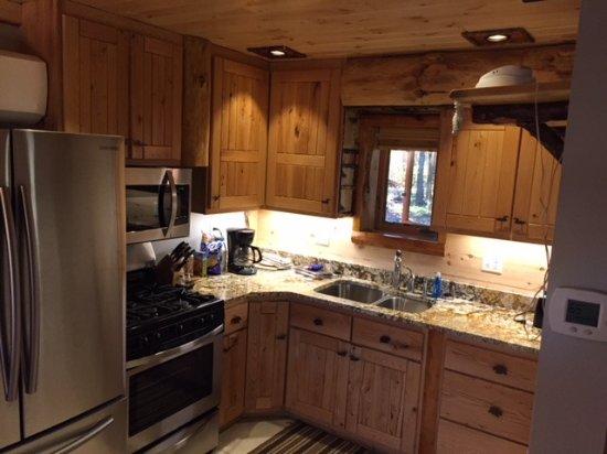 Staudemeyer's Four Seasons Resort: Birch Suite Kitchen