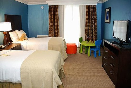 ‪‪San Mateo‬, كاليفورنيا: KidSuite - Second Room with Two Twin Beds.‬