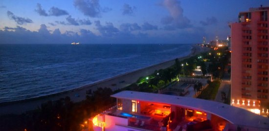 Miami Beach At Night Picture Of The