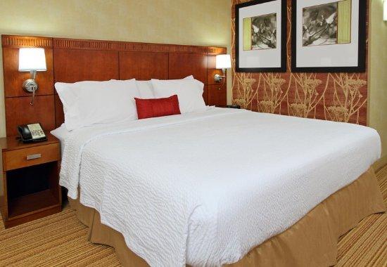 Mount Arlington, NJ : King Guest Room Sleeping Area