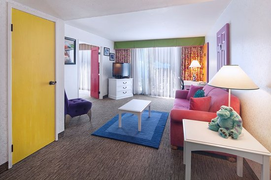 Two Bedroom Family Suite Picture Of Holiday Inn Hotel Suites Anaheim 1 Blk Disneyland