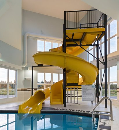 We are the only hotel in Deer Lake with a pool and waterslide!