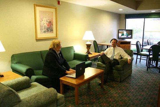 Hampton Inn Grand Rapids-South : Lobby