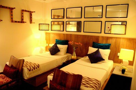 Sriperumbudur, อินเดีย: Enjoy plush new room at Sriperumpudur,