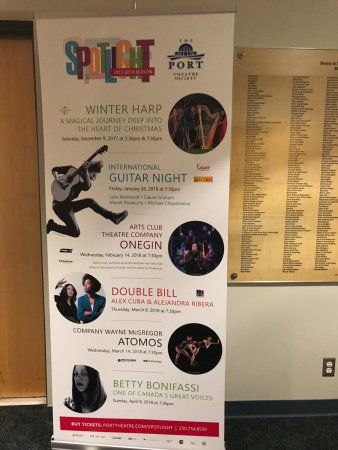 What's happening at The Port Theatre , 125 Front St, Nanaimo, British Columbia