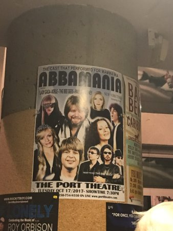 Getting ready for AbbaMania Canada, The Port Theatre , 125 Front St, Nanaimo, British Columbia