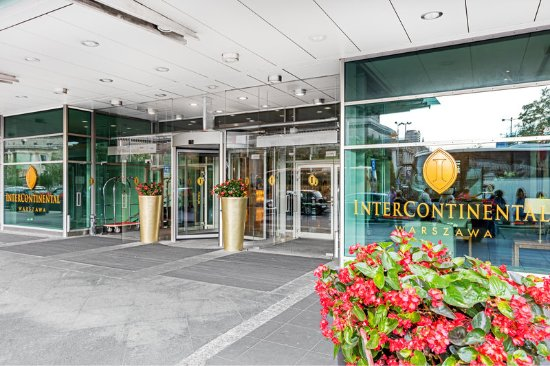 InterContinental Warszawa: Entrance