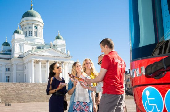 Walexcursie Helsinki: hop-on hop-off ...