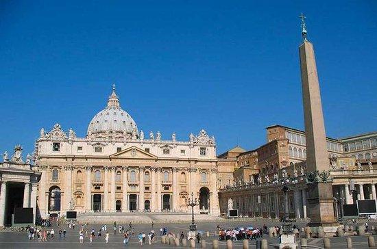 待ち時間なしの特別入場:サン・ピエトロ大聖堂 WiFi音声ガイド