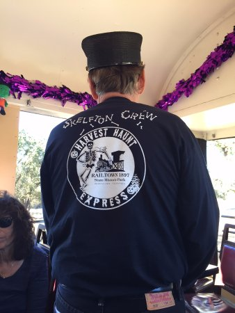 Jamestown, Californien: Logo on Conductor's Back