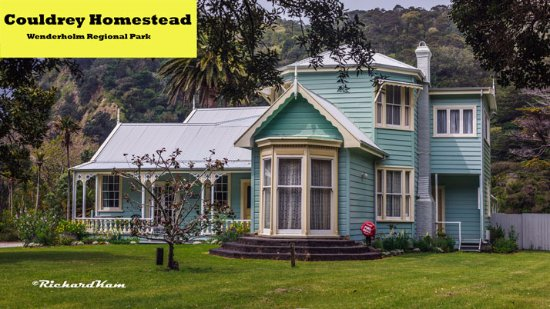 Waiwera, New Zealand: Couldrey Homestead