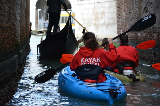45' Kayak Tour of Venice 2018