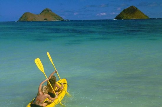 Tandom Kayak Rental from Kailua Beach