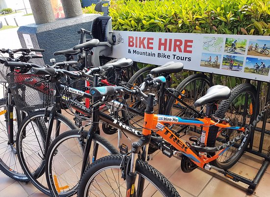 Noosaville, Australia: With 17 Hire Agents throughout Noosa its never been easier to hire a bike.