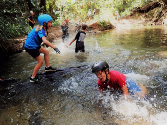 Noosaville, Australia: Teaching kids the fun of biking & exploring in some new places is what we do best...