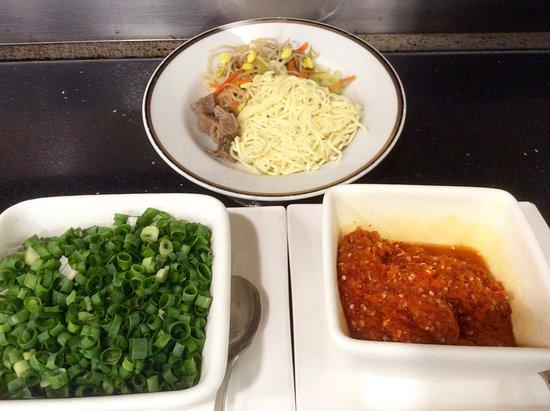 Fiesta Resort & Spa Saipan: World Cafe breakfast - noodles