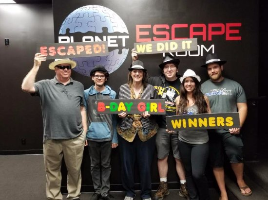 Planet Escape Room