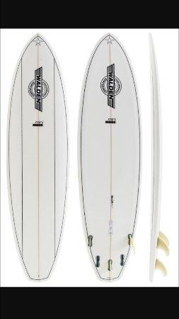 "Kilauea, HI: Walden Mini Mega 6'10"" Kauai Surfboard Rental"