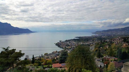 GoldenPass Line : Blick auf den Genfersee