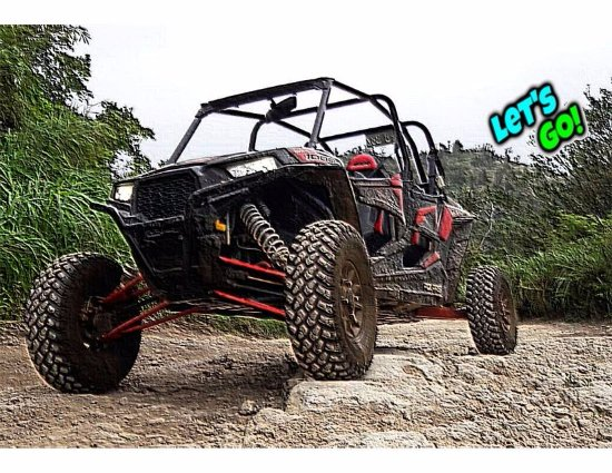 ‪‪Saipan‬, جزر ماريانا: Go off-roading in our trails with our Polaris RZR!‬