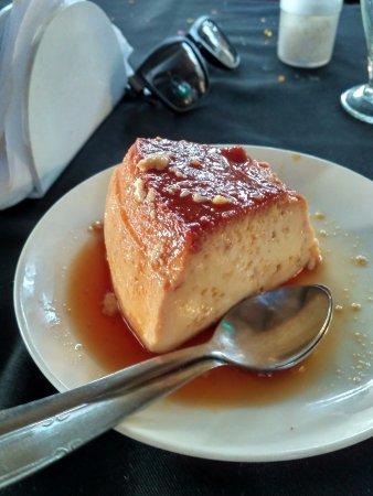 Britto's: caramel custard