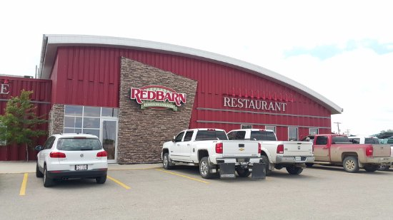 Moosomin, Καναδάς: Great parking lot just off Highway 1