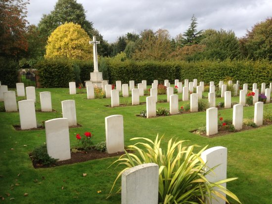 Canadian Corner War Graves
