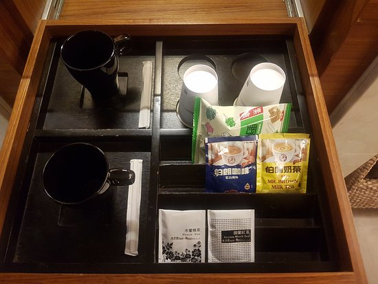 Burgary Hotel: free snacks, coffee & tea
