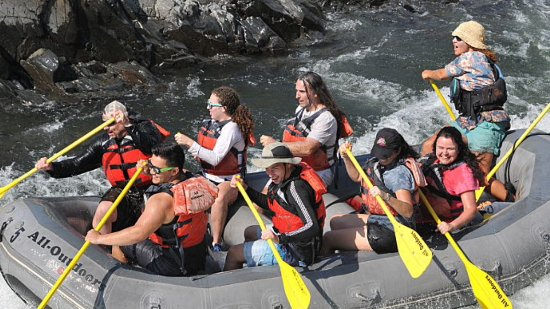 Lotus, CA: Rafting mit All outdooors