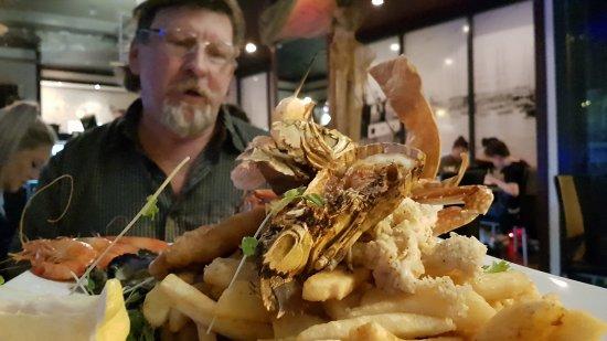 Yellowfin Seafood Restaurant: Gourmet Platter