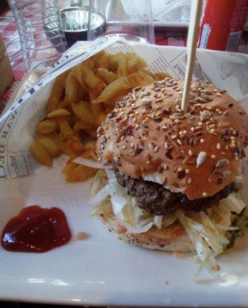 Les Garcons Bouchers: Burger Kefta
