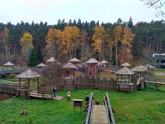 Tervete, Latvia: деревянная крепость в Тэрвете