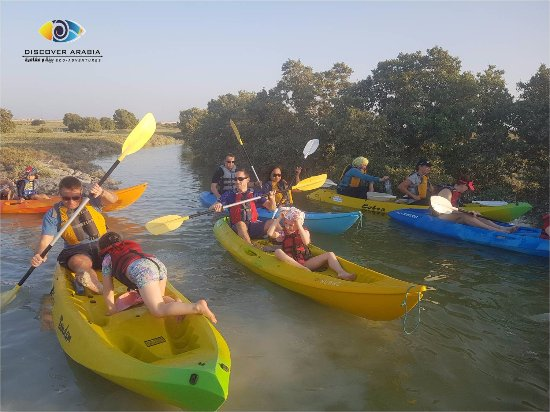 Al Khor, Catar: Weekend Family Fun kayaking experience
