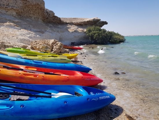 Al Khor, Catar: Purple Island Exploration