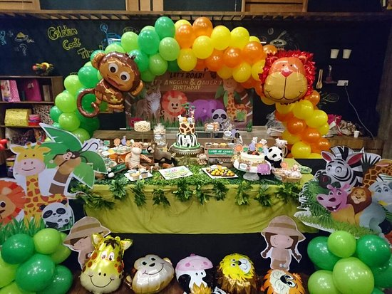 Jungle Theme Birthday Party Picture Of Jungle Gym Petaling Jaya