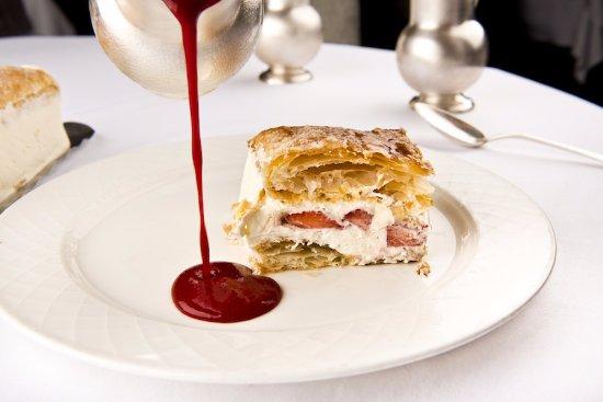 Restaurant du Cheval-Blanc: Dessert fait maison