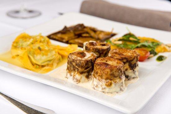 Restaurant du Cheval-Blanc: Spécialités de pâtes typiquement italiennes
