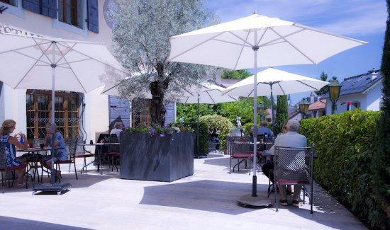 Restaurant du Cheval-Blanc: Terrasse du Cheval Blanc
