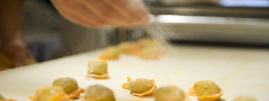 Restaurant du Cheval-Blanc: Ravioli 100% faits maison