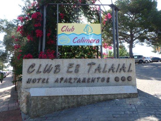 Vu de la chambre photo de club calimera es talaial cala for Chambre public affairs