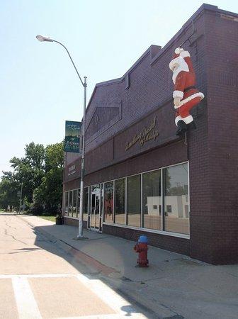 Atkinson, เนบราสก้า: 23/07/2017 Summer Santa Claus