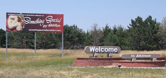 Atkinson, เนบราสก้า: 23 juillet 2017  Bienvenue de Marylin