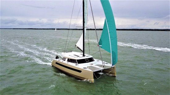 Gosport, UK: Aquila (Delivery from La Rochelle)