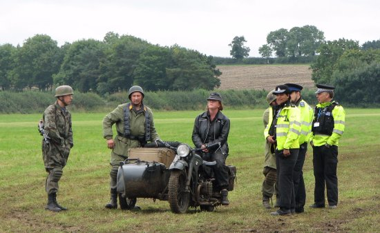 The Victory Show: The Leicestershire police suspect illegal immigrants :)